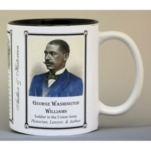 George Washington Williams author history mug.