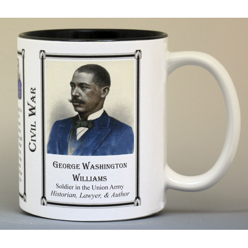 George Washington Williams Civil War history mug.