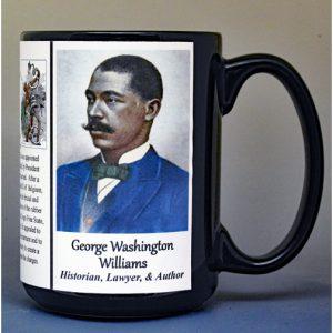 George Washington Williams, historian, lawyer, and author biographical history mug.