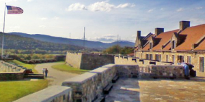 Capture of Ft Ticonderoga image.