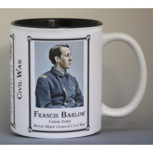 Francis Barlow Civil War Union Army history mug.
