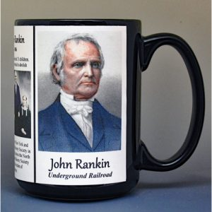 John Rankin, abolitionist biographical history mug.