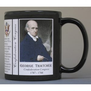 George Thatcher, Confederation Congress history mug.