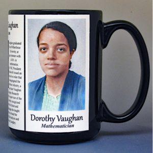 Dorothy Vaughan Science & Physics biographical history mug.