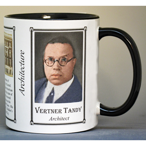 Vertner Woodson Tandy, architect, biographical history mug.