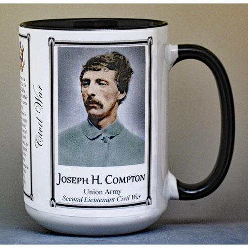 "Family History mug sample of ""Black-Lined, Black-Handle"" style mug."