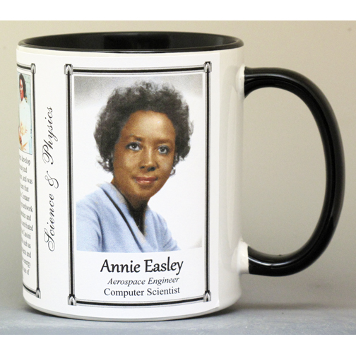 Annie Easley, Computer Scientist biographical history mug.